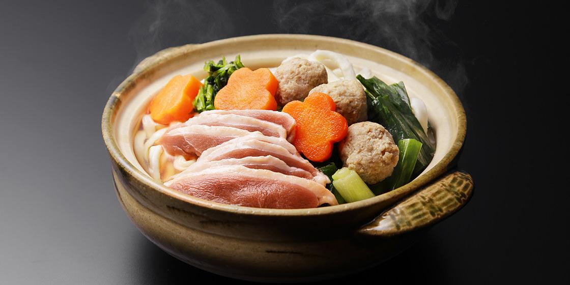 合鴨と京野菜のハーモニー