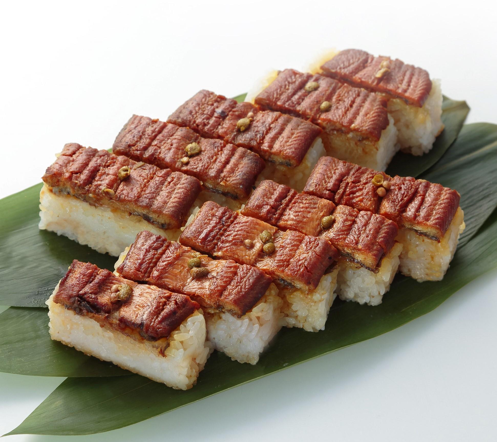 棒寿司3種