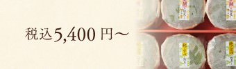 税込5,400円~