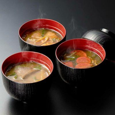 京野菜のお味噌汁イメージ