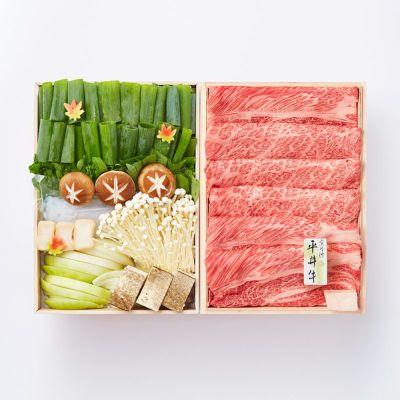 京丹波平井牛のすき焼き