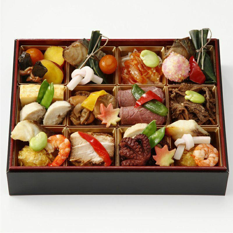 料亭の蒸し寿司詰合せ