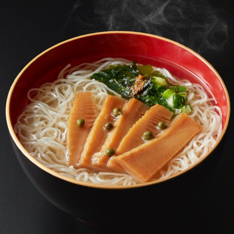 京都大原野産筍にゅう麺