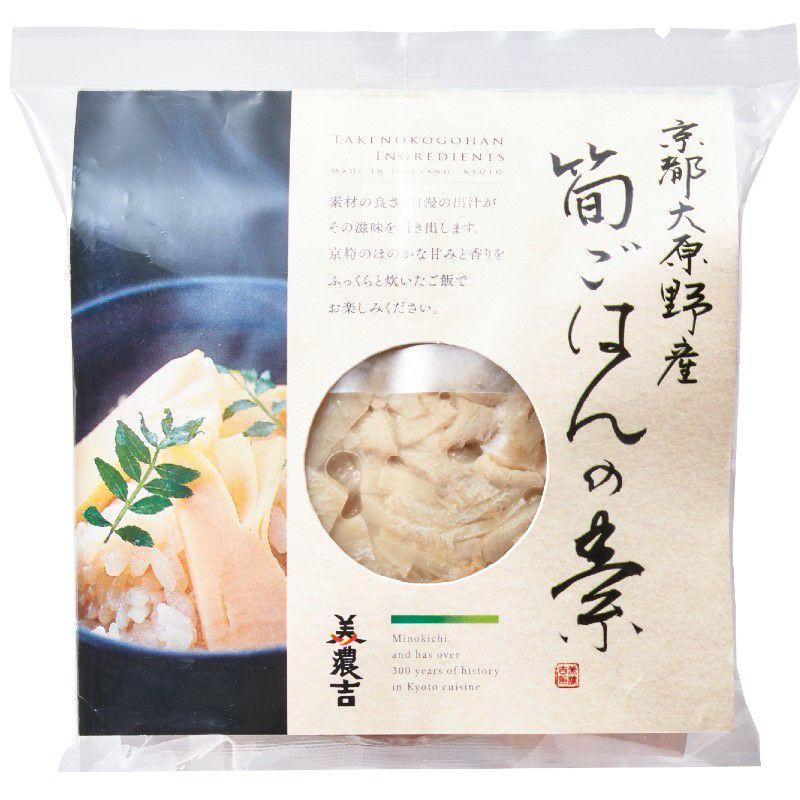 京都大原野産筍ご飯の素